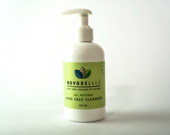 All Natural, Organic Acne Cleanser