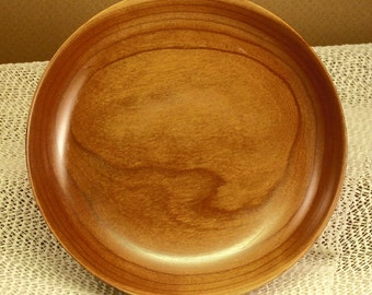 Hand Turned Wooden Bowl/Dish - Cherry