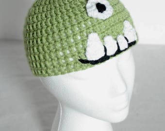 Infant's Crochet Silly Monster Hat