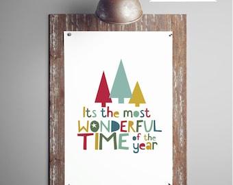 Christmas Printable Art, Quote Digital Print, Christmas Printable Art Gift Ideas, Holiday Wall Art Decor, DIGITAL DOWNLOAD