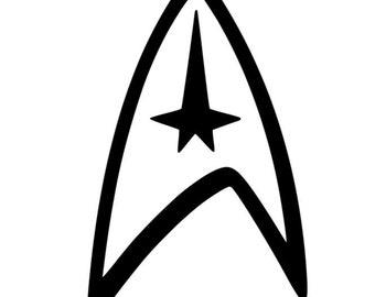 star trek logo etsy rh etsy com star trek enterprise clipart star trek clip art free