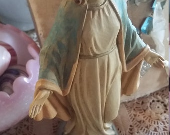 Vintage Virgin Mary Statue Italy