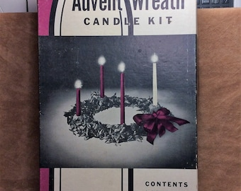 Advent Wreath Candle Kit Will & Baumer Vintage