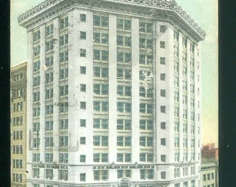Hearst Building San Francisco California 1919 Vintage Photo Postcard (14841)