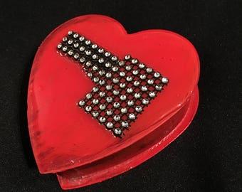 Heart Shaped Box- Temperature Rising