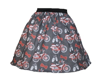 Pee Wee Herman Skirt for Gals, All Sizes, Plus Size