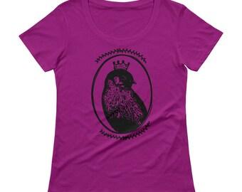 Bird Tshirt - Bird T Shirt - Women's tshirt - Boho T Shirt - Graphic Tee Women - Gift for Her - Ladies Top - by Bloom Bloom Wear