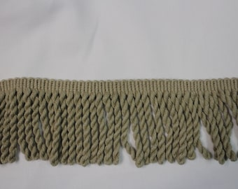 Taupe Twisted Rope Fringe - Decorative Trim 858