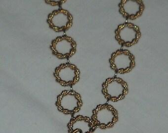 Vintage - Swiss Made Sheffield Necklace Pendant Watch - Goldtone Vintage Watch - Jewelry - Watch - Necklace