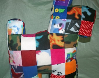 Giant Patchwork Puppy