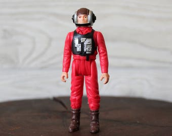 1984 B-Wing Pilot Star Wars Action Figure
