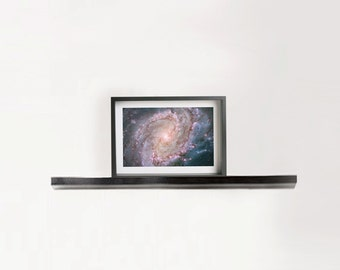 """Hubble Space Photography """"M83 Galaxy"""" Giclee Print Framed Art"""