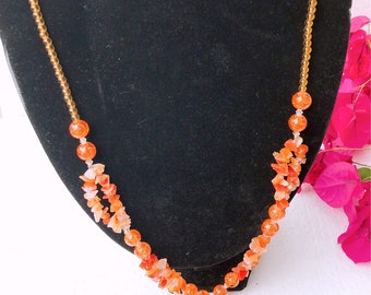 Agate becklace