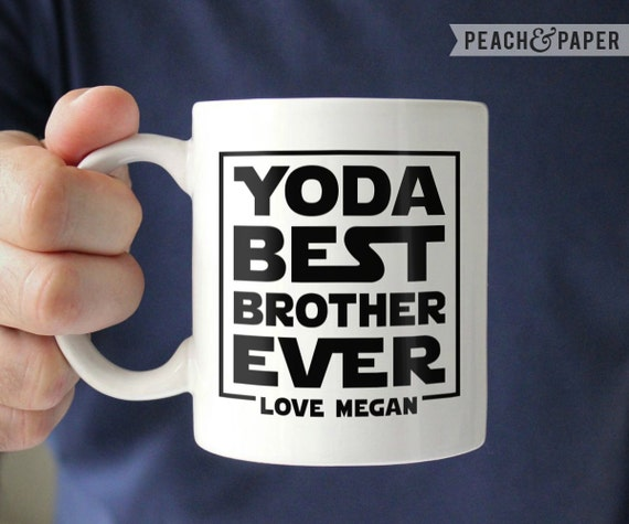 Star Wars Brother Gift Brother Wedding Gift Star Wars Mug