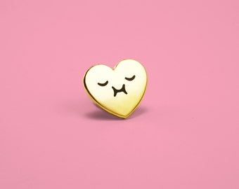 Happy Heart Enamel Pin
