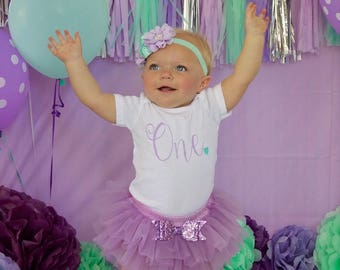 first birthday outfit girl purple, cake smash outfitl, girls birthday tutu, 1st birthday girl outfit, baby girl 1st birthday outfit, toddler