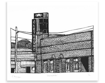 Clarksdale Limited Edition Screen Print
