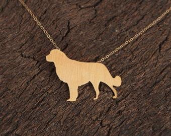 Golden Retriever Necklace, Gold Dog Necklace, Retriever Jewelry, Pet Jewelry, Golden Retriever pendant, Golden Retriever Charm, Dog Breed