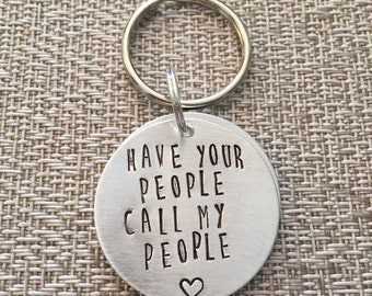 Dog ID Tag - Have your people call my people - Dog Tag