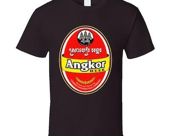 Angkor Beer Southeast Asia Cambodia Fan T Shirt
