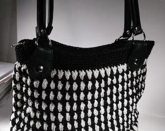 Knitted Handbag 100% Ecuadorian handcrafted