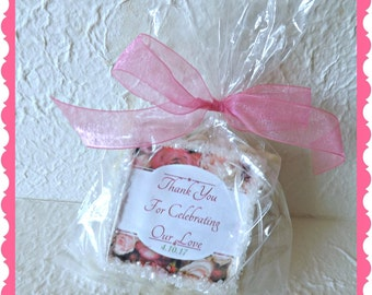 Thank You Wedding Party Favors-Custom Sugar Cookies