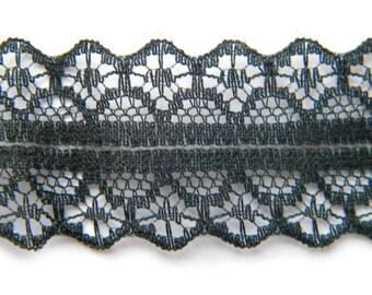 5 Yds Black  Lace