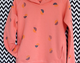 Hoodie//points//Flamingo Organic Organic Fairtrade