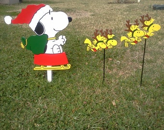 Snoopy Santa takes Flight