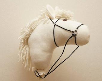 Ivory Stick Horse