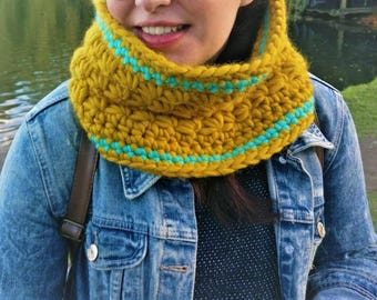 Quetzal Cowl Crochet Pattern