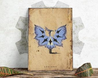 Monster Hunter World - Legiana Poster