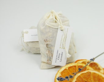 5 Citrus Lavender Aromatherapy Pure Essential Oil Lavender Bud Sachet