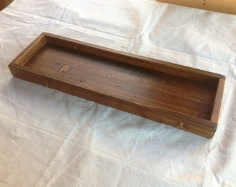 Rustic Centerpiece Tray 26x8