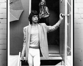 Mick Jagger, Rolling Stones, stones poster, music poster, home decor, cool photography, cool gift