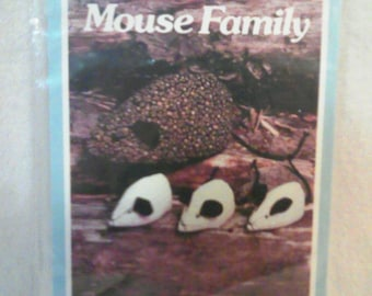 Mouse Family Sewing Pattern by Yours Truly