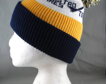 Vintage Auto Beanie / Toque - Astro Tires - Adult One Size Fits All
