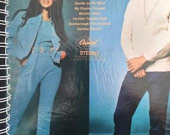 for the Glen Campbell Bobbie Gentry  fan / vinyl Album Cover Notebook