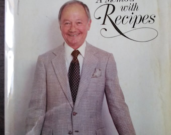 Craig Claiborne's A Memoir with Recipes A Feast Made for Laughter 1st Ed.