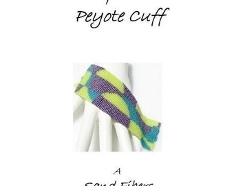 3 for 2 Program - Pop Art Peyote Cuff - For Personal Use Only PDF Pattern File