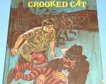 Three Investigators #13 Secret of Crooked Cat HB