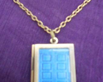 Doctor Who/River Song's Tardis Diary Locket  Necklace