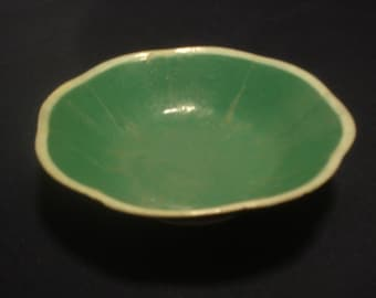 Chinese antique green porcelain bowl