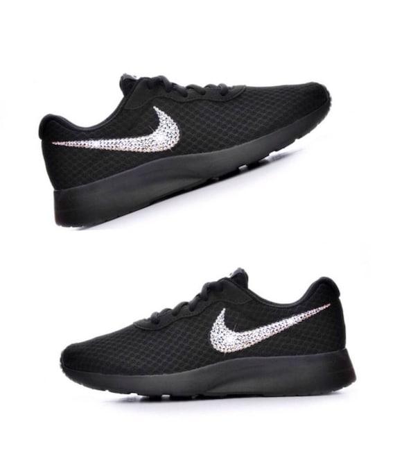 Bling Swarovski Sneakers Diamond Crystal Tanjun Nike Women's xCfwqIBnf0