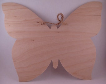 Butterfly Wood Shape Cutout - Unfinished Woodcraft Shapes - Wood Blank - Butterfly Cutout - Butterfly Shape