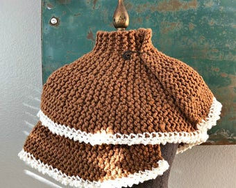 The Portrait Wrap - Hand Knit Shawl - One of a Kind - Ready to Ship