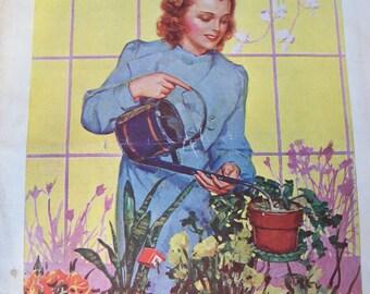 Vintage Home Arts Needlecraft Magazine April 1939 20 PERCENT off use: MEMORIAL DAY20