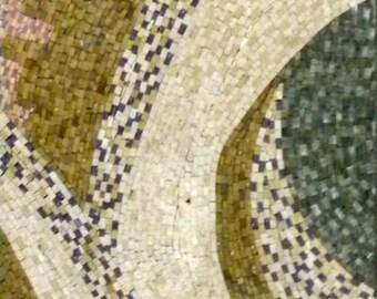 Octopus Tentacle- Abstract Mosaic Art