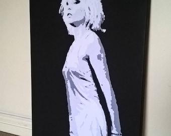 16x12 inch Debbie Harry Canvas Print