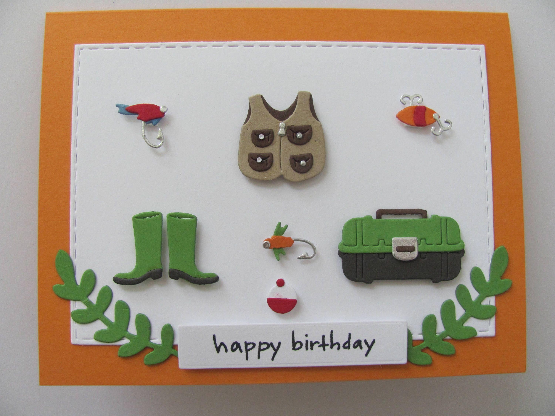 Fishing birthday card birthday fishing card fishing card zoom kristyandbryce Choice Image